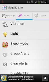 Visualfy Lite- screenshot thumbnail