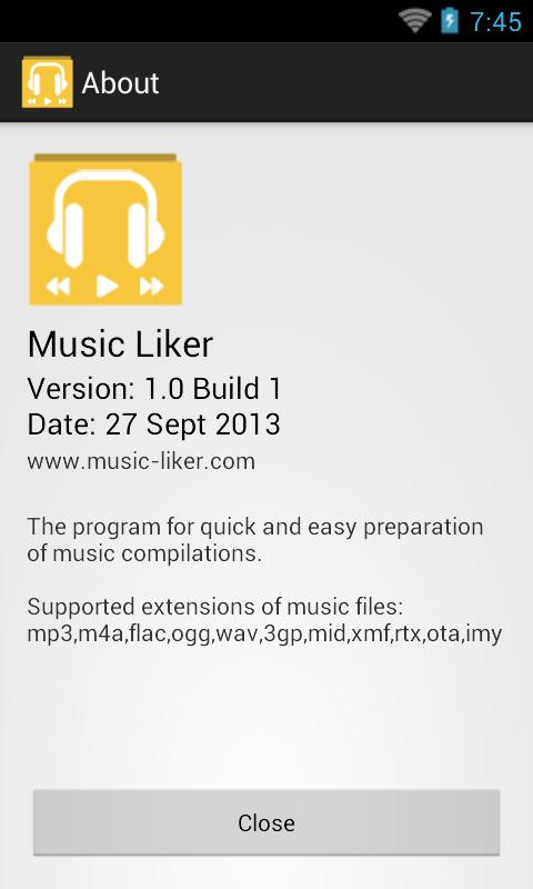 Music Liker- screenshot