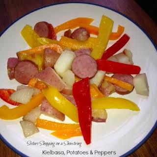 Kielbasa, Potatoes and Peppers.