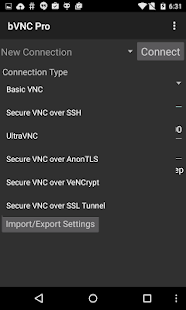 bVNC: Secure VNC Viewer- screenshot thumbnail