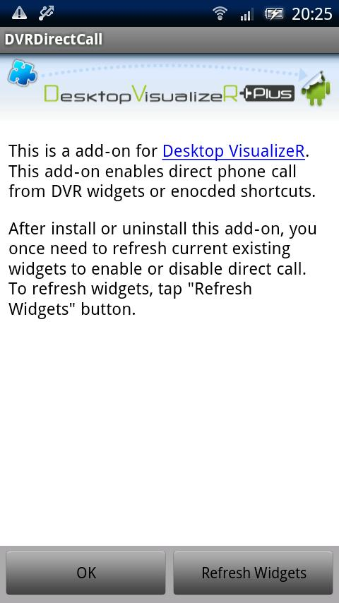 DVRDirectCall - screenshot