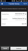 Screenshot of Ideal CU Mobile Banking