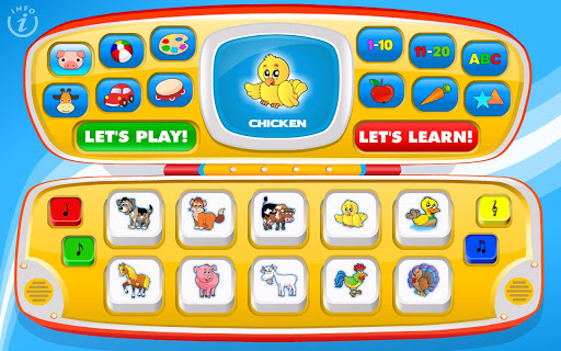 Magic Laptop: Toddler School