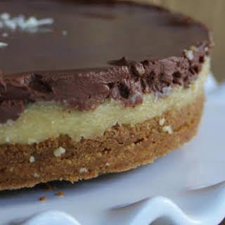 Irish Cream Chocolate Cheesecake [Vegan].
