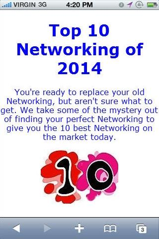 Networking Reviews