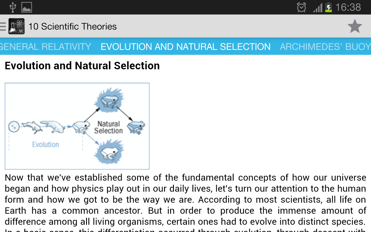 10 Scientific Theories- screenshot