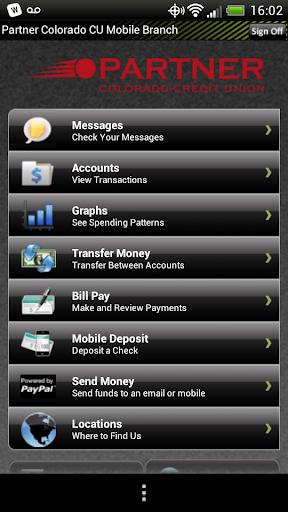 Partner CO CU Mobile Banking