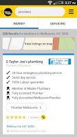 Screenshot of Yellow Pages® Australia