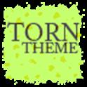 Torn Paper Green Apex/ADWTheme