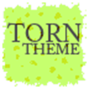 Torn Paper Green Apex/ADWTheme