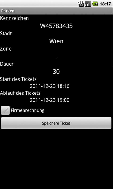 Parken Österreich- screenshot