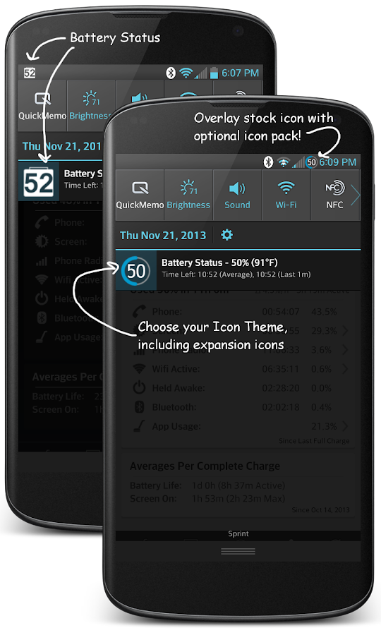 GSam Battery Monitor Pro- screenshot