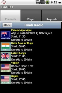 HindiTop - Hindi Radio & Songs - screenshot thumbnail