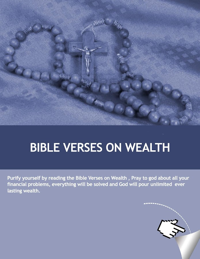 Faith Bible Verses on Wealth - screenshot