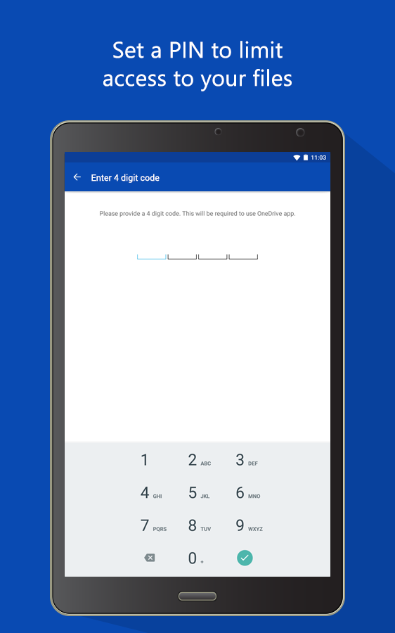 OneDrive – cloud storage - screenshot