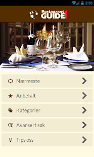 Restaurantguide1- screenshot thumbnail