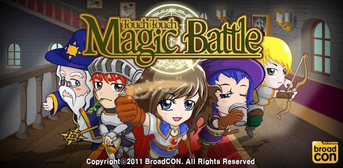 Touch Touch Magic Battle - фантастическая игра с элементами RPG