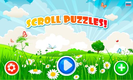SCROLL PUZZLE preschool game