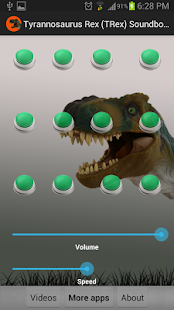 TRex Soundboard - Dinosaur