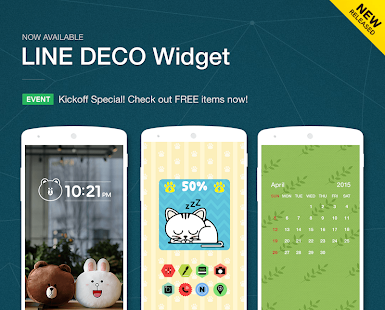 LINE DECO - Wallpapers & Icons - screenshot thumbnail