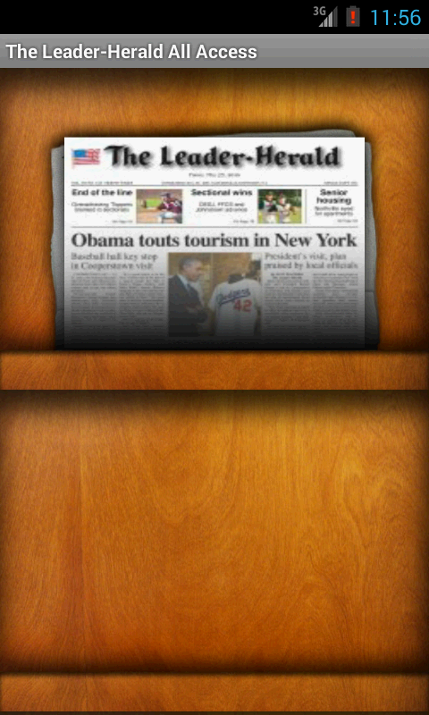 The Leader-Herald All Access- screenshot