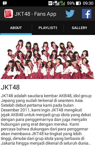 JKT48 Unofficial Fans App