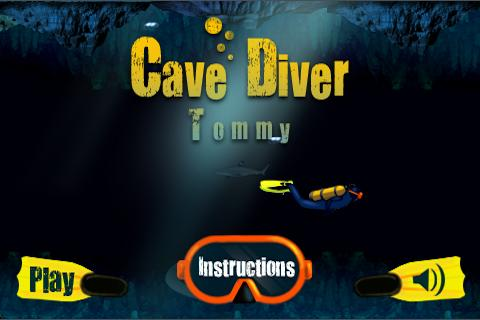 Cave Diver Tommy