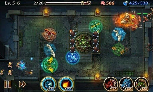Lair Defense: Dungeon- screenshot thumbnail