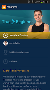 DailyBurn - Video Workouts - screenshot thumbnail