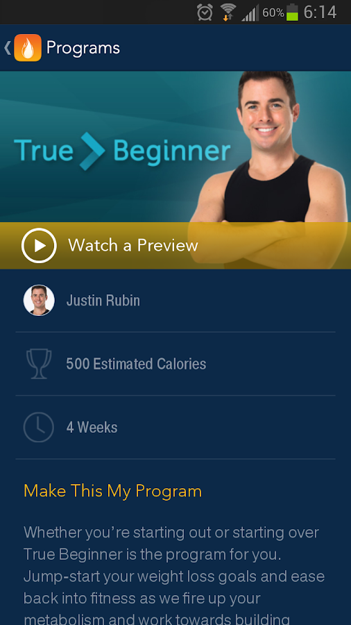 DailyBurn - Video Workouts - screenshot