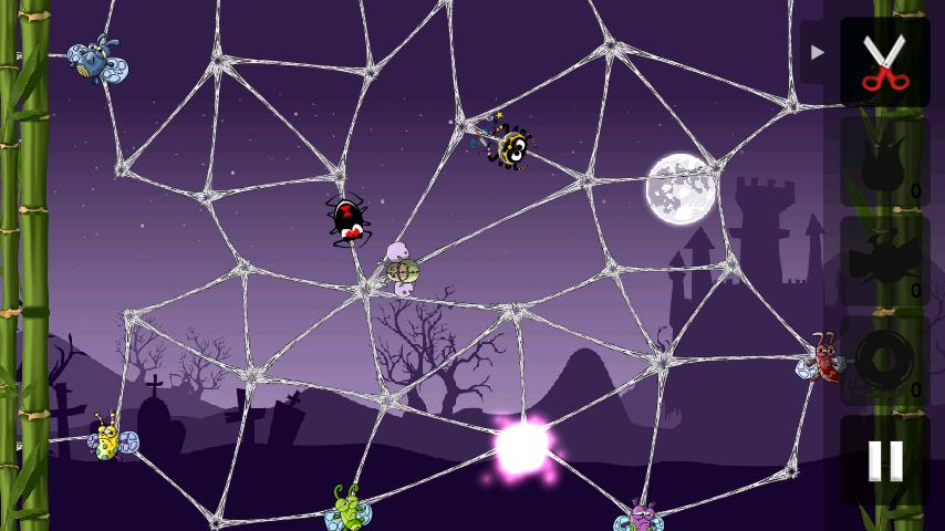 Greedy Spiders - screenshot