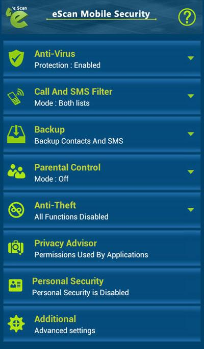 Screenshots of eScan - Mobile Antivirus for iPhone