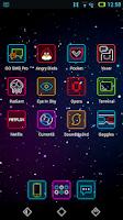 Screenshot of Neon Pixelz - Icon Pack