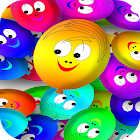 Colorful Smiley Live Wallpaper icon