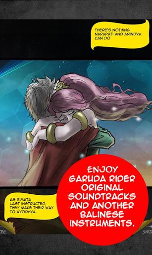 Garuda Rider Comic