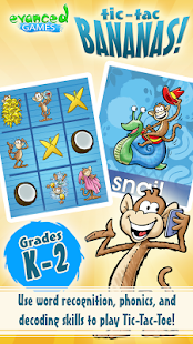 Tic-Tac Bananas! Monkey Words- screenshot thumbnail