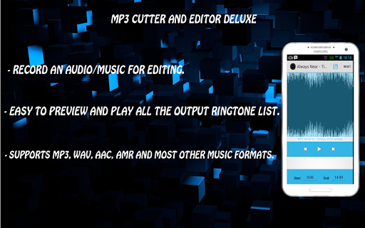 Mp3 Cutter and Editor Deluxe
