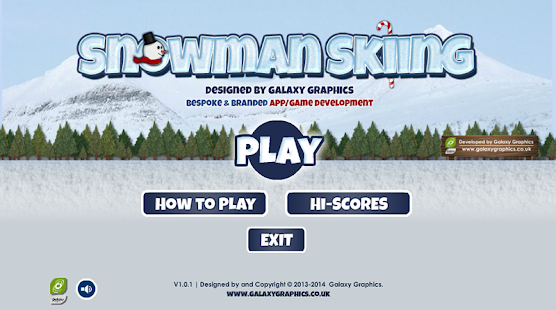 Snowman Skiing- screenshot thumbnail