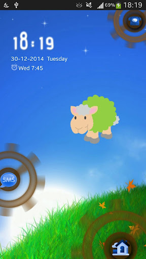 Sheep GO Locker Theme