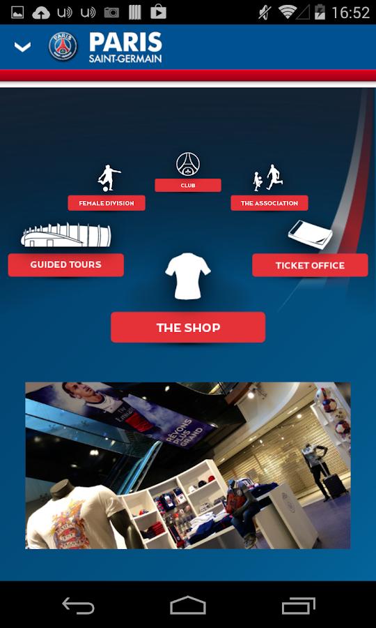 PSG Official - screenshot