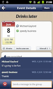 SynkMonkey - Social Calendar - screenshot thumbnail