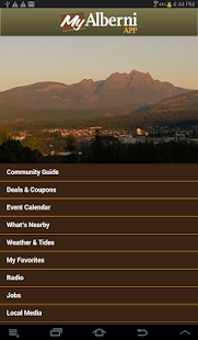 MyAlberni The Port Alberni App- screenshot thumbnail