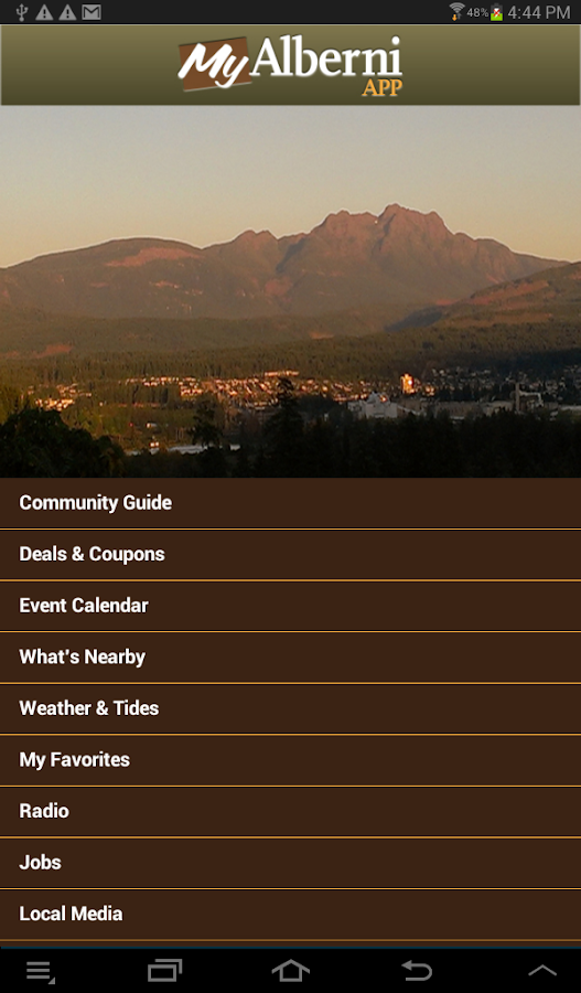 MyAlberni The Port Alberni App- screenshot