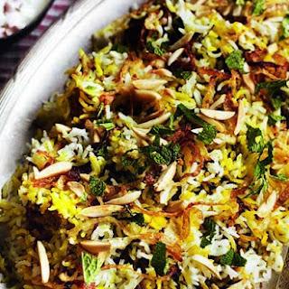 Green Chicken Biryani
