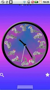 Bunny Kama Sutra Clock - screenshot thumbnail