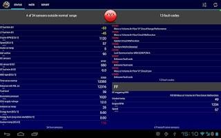 Screenshot of Mobilscan - your OBD tool