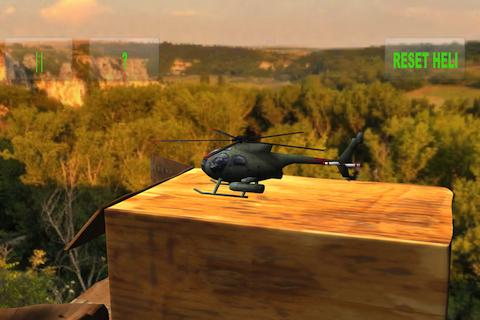 RC Helicopter Simulation- screenshot