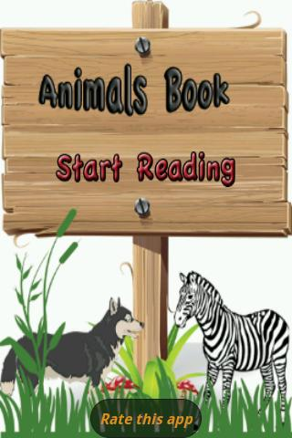 A-Z Animals Book - screenshot