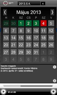Magyar Rádió Hangtár - AIR - screenshot thumbnail