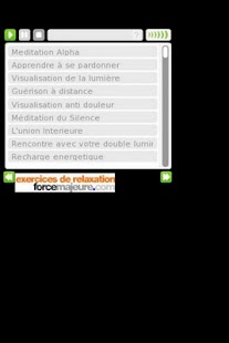 Exercices de relaxation - screenshot thumbnail